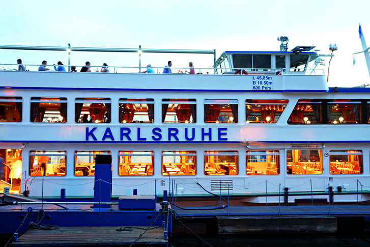 Fahrgastschiff Karlsruhe